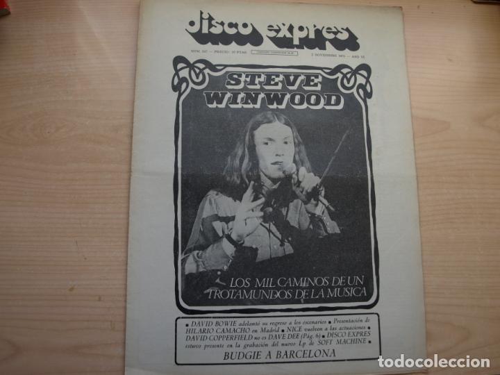 Revistas de música: DISCO EXPRES - REVISTA MUSICAL - LOTE DE 32 NÚMERO - SE VENDEN SUELTOS - Foto 25 - 155433822