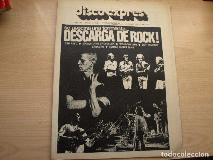 Revistas de música: DISCO EXPRES - REVISTA MUSICAL - LOTE DE 32 NÚMERO - SE VENDEN SUELTOS - Foto 26 - 155433822