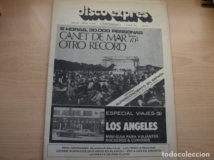 Revistas de música: DISCO EXPRES - REVISTA MUSICAL - LOTE DE 32 NÚMERO - SE VENDEN SUELTOS - Foto 27 - 155433822