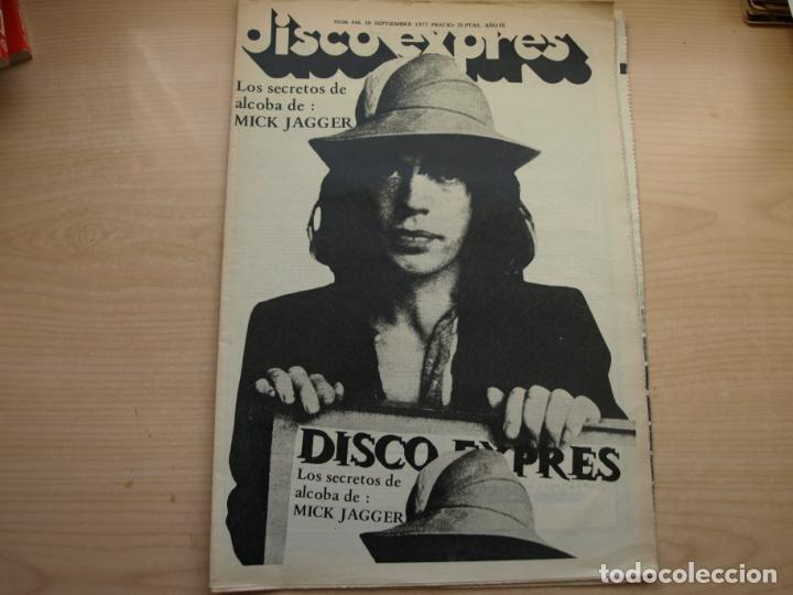 Revistas de música: DISCO EXPRES - REVISTA MUSICAL - LOTE DE 32 NÚMERO - SE VENDEN SUELTOS - Foto 28 - 155433822