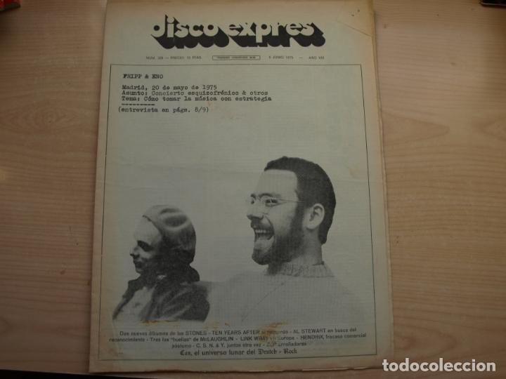 Revistas de música: DISCO EXPRES - REVISTA MUSICAL - LOTE DE 32 NÚMERO - SE VENDEN SUELTOS - Foto 30 - 155433822