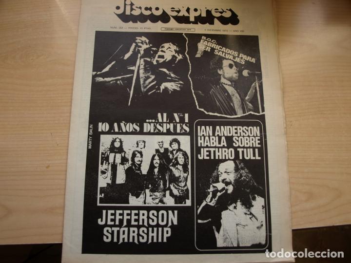 Revistas de música: DISCO EXPRES - REVISTA MUSICAL - LOTE DE 32 NÚMERO - SE VENDEN SUELTOS - Foto 31 - 155433822