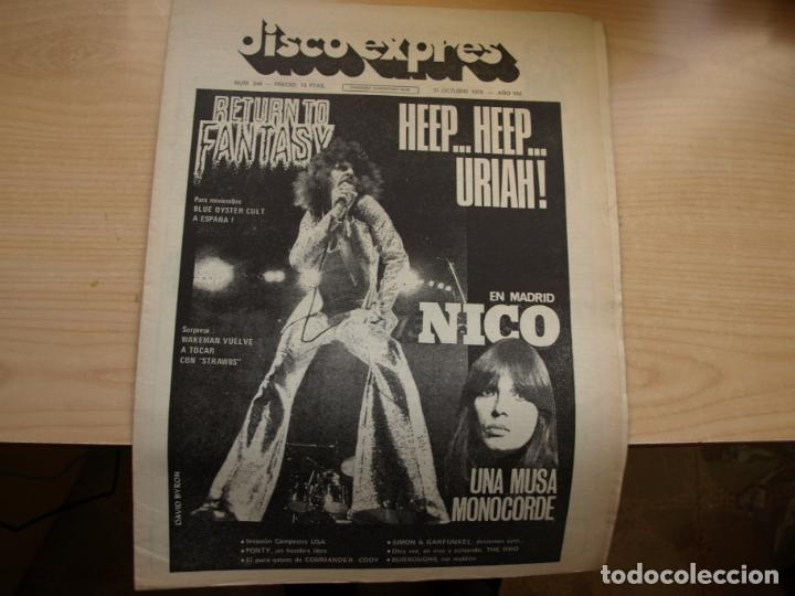 Revistas de música: DISCO EXPRES - REVISTA MUSICAL - LOTE DE 32 NÚMERO - SE VENDEN SUELTOS - Foto 32 - 155433822