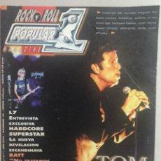 Revistas de música: POPULAR 1 TOM WAITS. Lote 155696850