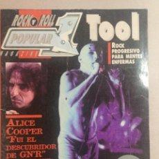 Revistas de música: POPULAR 1 TOOL. Lote 155697470