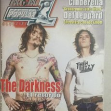 Revistas de música: POPULAR 1 THE DARKNESS. Lote 155697866