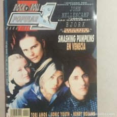 Revistas de música: POPULAR 1 SMASHING PUMPKINS. Lote 155698294