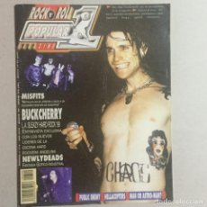Revistas de música: POPULAR 1 BUCKCHERRY. Lote 155698426
