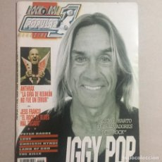 Revistas de música: POPULAR 1 IGGY POP. Lote 155698650
