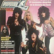 Revistas de música: POPULAR 1 MOTLEY CRUE. Lote 155699250
