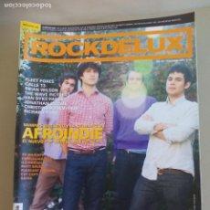Revistas de música: REVISTA ROCKDELUX. Nº 267. ROCK DE LUX. 2008. AFROINDIE. FLEET FOXES, CALLE 13, BRIAN WILSON, . Lote 155842510