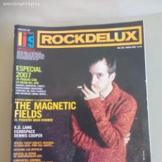 Revistas de música: REVISTA ROCKDELUX. Nº 258. ROCK DE LUX. 2008. THE MAGNETIC FIELDS, K.D LANG ECHOSPACE, DENNIS COOPER. Lote 155842958