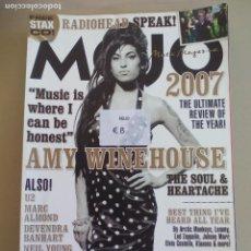 Revistas de música: REVISTA MOJO . JANUARY 2008. ISSUE Nº 170 MAGAZINE. RADIOHEAD AMY WINEHOUSE OTIS REDDING MARC ALMOND. Lote 155843814