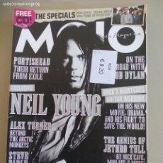 Revistas de música: REVISTA DE MUSICA MOJO . MAY 2008. ISSUE Nº 174 MAGAZINE.NEIL YOUNG, BOB DYLAN, ALEX TURNER, . Lote 155844178