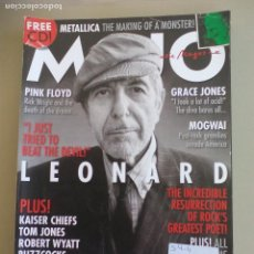 Revistas de música: REVISTA DE MUSICA MOJO DECEMBER 2008. ISSUE Nº 181 MAGAZINE.LEONARD COHEN, PINK FLOYD, GRACE JONES. Lote 155844538