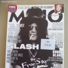 Revistas de música: REVISTA DE MUSICA MOJO JUNE 2008. ISSUE Nº 175 MAGAZINE.SLASH, PAUL WELER, BOBBY BLAND, AXL, DOLLY . Lote 155844826