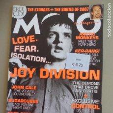 Revistas de música: REVISTA DE MUSICA MOJO FEBRUARY 2007 ISSUE Nº 159 MAGAZINE JOY DIVISION JOHN CALE,SUGAR CUBES, IAN . Lote 155845710