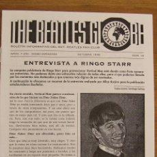 Revistas de música: THE BEATLES GLOBE Nº 16 OCTUBRE 1998. Lote 156466010