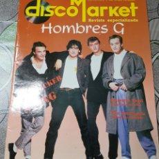 Revistas de música: HOMBRES G REVISTA DISCO MARKET AÑO 1988. Lote 156635837