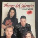 Revistas de música: HEROES DEL SILENCIO GUIA PARA FANATICOS ADICTOS Y ADMIRADORES RECOPILADA POR PATRICIA GODES. Lote 158583560