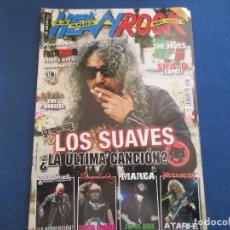 Revistas de música: REVISTA HEAVY ROCK N.º 260 - LOS SUAVES, JUDAS PRIEST, MEGADETH, QUEEN CON P. RODGERS.... Lote 156970222