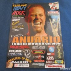Revistas de música: KERRANG! HEAVY ROCK EDICIÓN ESPECIAL AÑO 1 N.º 2 - NO INCLUYE CD - FESTI ANUARIO . Lote 156971642