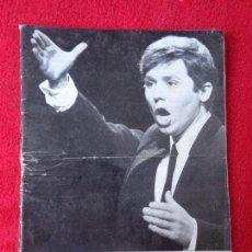 Revistas de música: CARTELERA TURIA, VALENCIA, Nº 265 ---- 1969 ---- PORTADA RAPHAEL. Lote 156998050