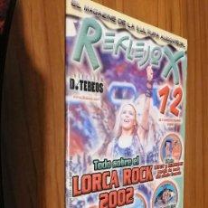 Revistas de música: REFLEJOX 12. MAGAZINE. REVISTA ALMERIENSE. GRAPA. BUEN ESTADO. Lote 157129434