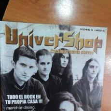 Revistas de música: REVISTA CATÁLOGO UNIVERSHOP DICIEMBRE 2001-MARZO 2002 (PORTADA TIERRA SANTA). Lote 157139274