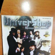 Revistas de música: REVISTA CATALOGO UNIVERSHOP JUNIO 2002-AGOSTO 3003 (PORTADA MAGO DE OZ). Lote 157139302