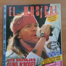 Revistas de música - EL GRAN MUSICAL. NUM 367. GUNS N ROSES, CELTAS CORTOS, ALEJANDRO SANZ, DAVID SANTISTEBAN - 157691514