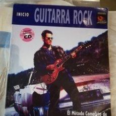 Revistas de música: INICIO GUITARRA ROCK. MÉTODO COMPLETO DE GUITARRA ROCK. PAUL HOWARD. CONTIENE CD. Lote 157729354