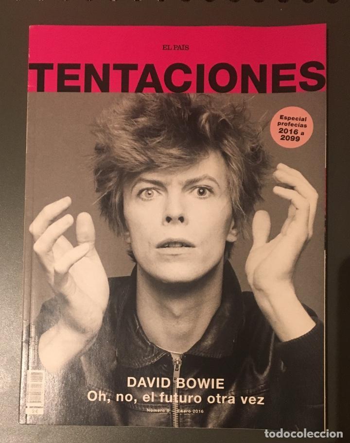 DAVID BOWIE - REVISTA TENTACIONES 2016 (Música - Revistas, Manuales y Cursos)