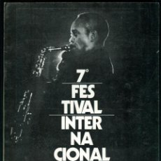 Revistas de música: JAZZ - 7º FESTIVAL INTERNACIONAL DE JAZZ DE BARCELONA - 1972. Lote 158605090