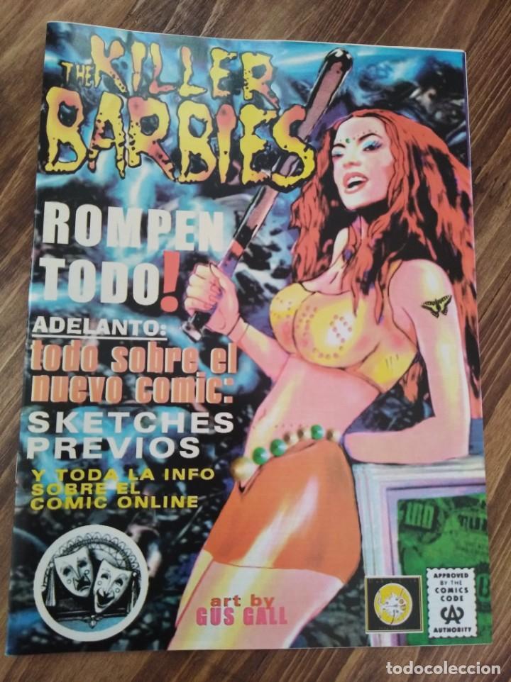 THE KILLER BARBIES FANSCINE TODO SOBRE EL NUEVO COMIC (Música - Revistas, Manuales y Cursos)