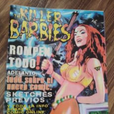 Revistas de música: THE KILLER BARBIES FANSCINE TODO SOBRE EL NUEVO COMIC. Lote 222706201