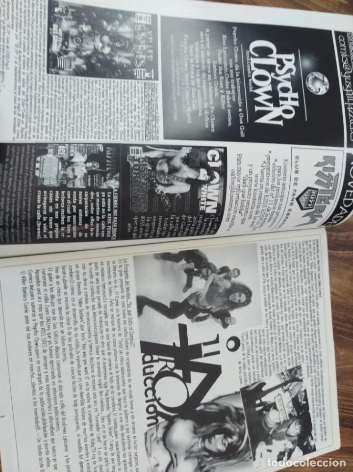 Revistas de música: THE KILLER BARBIES FANSCINE TODO SOBRE EL NUEVO COMIC - Foto 2 - 222706201