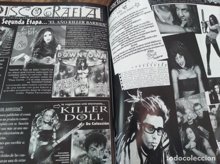 Revistas de música: THE KILLER BARBIES FANSCINE TODO SOBRE EL NUEVO COMIC - Foto 3 - 222706201