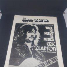 Revistas de música: REVISTA MUSICAL DISCO EXPRÉS 196 ERIC CLAPTON. Lote 159502672