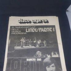 Revistas de música: REVISTA MUSICAL DISCO EXPRÉS NÚMERO 218. Lote 159505729