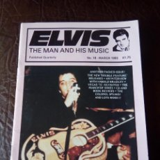 Revistas de música: REVISTA ELVIS THE MAN AND HIS MUSIC N°18 1993. Lote 159775058