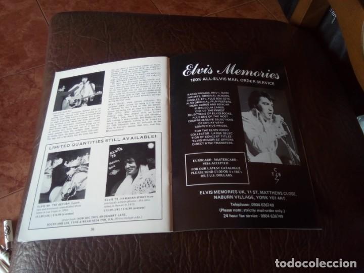 Revistas de música: REVISTA ELVIS THE MAN AND HIS MUSIC N°18 1993 - Foto 3 - 159775058
