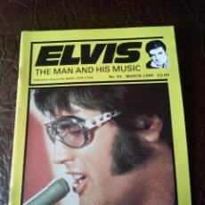 Revistas de música: REVISTA ELVIS THE MAN AND HIS MUSIC N°43 1999. Lote 159775238