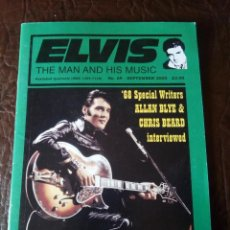 Revistas de música: REVISTA ELVIS THE MAN AND HIS MUSIC N°69 2005. Lote 159775674