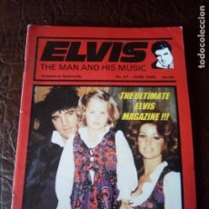 Revistas de música: REVISTA ELVIS THE MAN AND HIS MUSIC N°27 1995. Lote 159775978