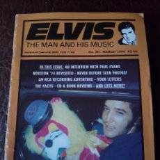 Revistas de música: REVISTA ELVIS THE MAN AND HIS MUSIC N°30 1996. Lote 159776334