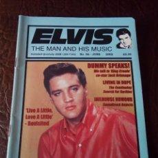Revistas de música: REVISTA ELVIS THE MAN AND HIS MUSIC N°56 2002. Lote 159776630