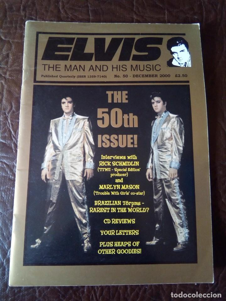 REVISTA ELVIS THE MAN AND HIS MUSIC N°50 2000 (Música - Revistas, Manuales y Cursos)