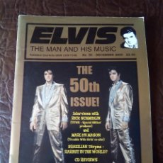 Revistas de música: REVISTA ELVIS THE MAN AND HIS MUSIC N°50 2000. Lote 159776986