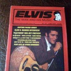 Revistas de música: REVISTA ELVIS THE MAN AND HIS MUSIC N°35 1997. Lote 159777698